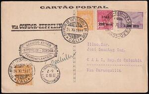 Zeppelin LZ 127 - 3. Südamerikafahrt 1931 – Signatur Kapitän Hans von Schiller