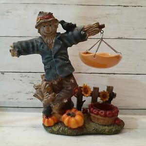 Yankee Candle Hanging Tart Burner Warmer Scarecrow Harvest Crow Apples Pumpkin
