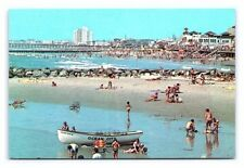 Vintage Postcard Panoramic View Ocean City New Jersey