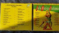 COMPILATION - SOLO MUSICA ITALIANA VOL. 1 (MINA D'ANGIO' DONAGGIO...). CD