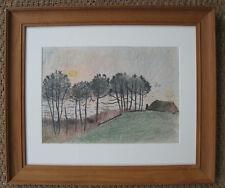 Robert Henry Pinchon, Paysage en bord de Mer. Normandie ?