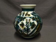 "Attractive Vintage Hand Painted Russian Lomonosov 7.25"" Vase"