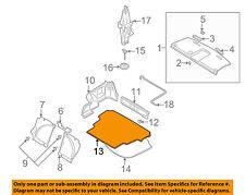 SUBARU OEM 06-07 Impreza Interior-Rear-Trunk Mat 94514FE031