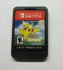 Pokemon: Let's Go, Pikachu! - Nintendo Switch (VG) Cartridge Only