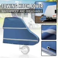 Caravan Trailer Towing Hitch Tow Coupling Lock Cover Waterproof Oxford Fabric