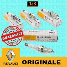48Kw//65Cv 57Kw//78Cv 4 CANDELE ACCENSIONE RENAULT CLIO III 1.2 16V 55Kw//75Cv