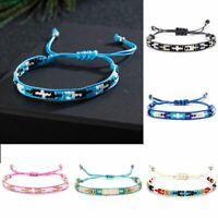 Hot Ethnic Handmade Multicolor String Beads Woven Braided Friendship Bracelets