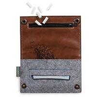 Zando Design Smoking Tobacco Pouch Rolling Cigarette Pocket Wallet Case Bag