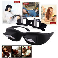 Horizontal reading glasses Sit-view mirror glasses Tv glasses lazy glasses