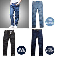 cargo Mens big size pants cotton Casual Work Pants Trousers jeans Pockets loose