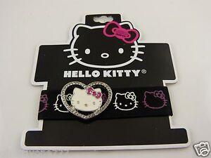 Hello Kitty bling stretch nylon bracelet Sanrio