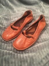 cc1f2d13caa Whats What Aerosoles Size 6.5 Mary Jane Loafers Brown Leather Nantucket