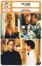 FICHE CINEMA : THE GAME - Douglas,Penn,Fincher 1997