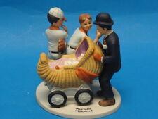 "Norman Rockwell ""Baby Sitter"" Figurine Danbury * Korea"