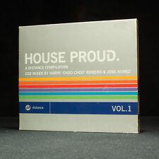 House Proud - Vol.1 - Harry Choo Choo Romero & Jose Nunez - Music CD Album X 2
