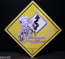 Betty Boop, Dangerous Curves Ahead, Apo and Fpo Buyer Welcome, Adult, Unisex