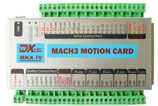 CNC Mach3 USB 4 Axis Motion Control Card Breakout Board 2MHz Support Windows 7