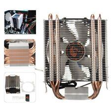Copper 4 Heat Pipe CPU Cooler Heatsink Fan for Intel LGA1150 775 AMD Core i7 i5