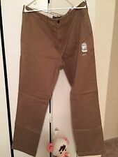 New Abercrombie Men's Slim Straight Chino Pants W38-32L