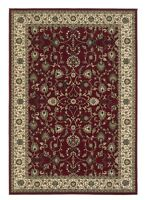 Haines 137R Red Traditional Style Rug in various sizes and runner