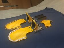 New listing Vtg Water Ski Binding Set & Fins + Hardware Double Slalom Combo Adult Yellow Vgc
