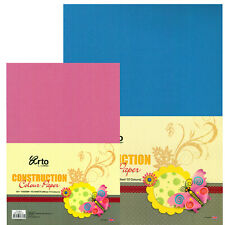 Arto A4 or A3 Construction Paper 100gsm 50 Sheets Scrapbooking Cards Art Craft