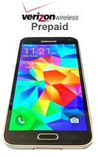 Unlocked Verizon Prepaid Samsung Galaxy  S5 16GB 4G LTE - No contract with SIM