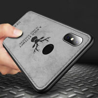 For Xiaomi Mi A1 A2 Redmi Note 5 Hybrid Soft TPU Leather Case Shockproof Cover