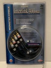 Monster Cable Interlink 400 MKII Advanced Performance Audio Interconnect Cable