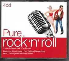 Pure... rock 'n' roll -  classic rock 'n' roll music (4-Disc Set, CD) Gift NEW