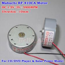 Mabuchi RF-410CA DC 1.5V 2V 3V 5900RPM Ultrathin Micro Round Solar Power Motor