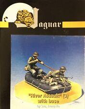 """Jaguar 1/35 """"River Assault"""" Team (3 Figures, Raft & Base) - JAG-63124"""