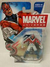 "Marvel Universe Captain Britain 3.75"" Series 2 026 MOC fig stand Brian Braddock"