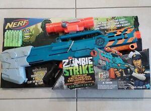 Nerf Zombie Strike Longshot blaster, Brand New