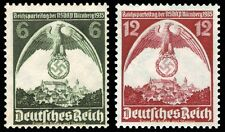 EBS Germany 1935 Nuremberg Rally Michel 586-587 MNH**