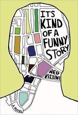 Ned Vizzini~IT'S KIND OF A FUNNY STORY~TRUE 1ST/DJ~RARE!