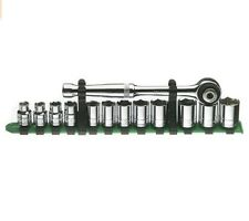 8-19mm 3/8 Drive Socket Set With Ratchet Sk 91823