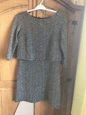 Mango Tiered Dress Size 10 Medium