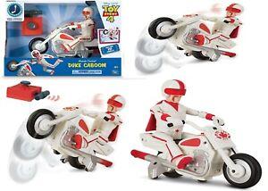 Toy Story 4 Disney Pixar Remote Control Duke Caboom Ages 4+ Toy Car Bike Race