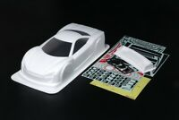 Tamiya 54774 1/10 RC White Painted Body Set Raikiri GT