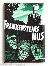 House of Frankenstein (Sweden) FRIDGE MAGNET (2.5 x 3.5 inches) movie poster
