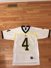 460fa376f Jim Harbaugh Michigan Wolverines NCAA Adidas Jersey Men s Size S