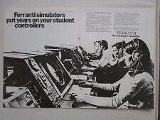 1/1975 ATC pub ferranti training simulator controllers controller air ad
