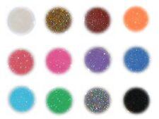 12x Glitter, Glitzer, Glimmer, Pulver, Puder, Nageldesign, Nailart, Glitterstaub