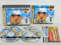 GAME WARE Vol 5 Sega Saturn with SPINE * Japan ss