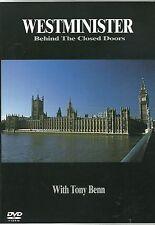 WESTMINSTER BEHIND THE CLOSED DOORS TONY BENN MP BBC REGION FREE DVD NEW SEALED