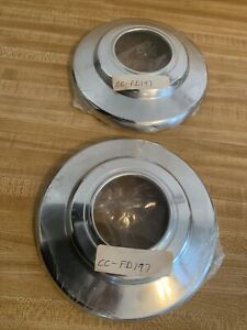 "1983 - 1997 Ford Ranger 4X4 Dog Dish Hubcap Center Cap 7 1/2"" Set Of 2 NOS  Ford"