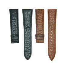 Genuine Crocodile Alligator Skin Leather Watch Strap Band 18mm/20mm Customizable