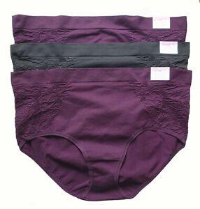 NEW Women/'s Lane Bryant CACIQUE Cobalt Blue Floral Bikini Panties Size 18 20 1X