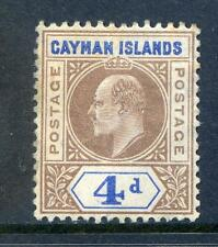 Edward VII (1902-1910) Caymanian Stamps